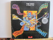 THE WHO A Quick One POLYDOR free UK post