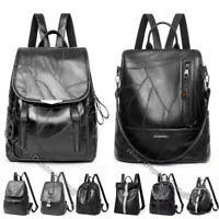 10 Styles Women's NEW Soft Leather Sheepskin Backpack Casual Travel Shoulder Bag