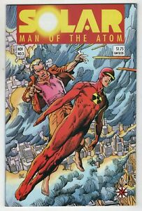 Solar Man Of The Atom 3 Valiant 1991 NM 1st Toyo Harada Harbinger Foundation