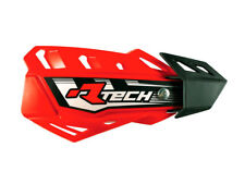 Coppia Paramani Racetech FLX Rosso Honda + Kit Montaggio Rtech Handguards Cross
