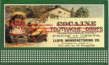 Billboard for Lionel Holder Cocaine Tooth Drops Lloyd Manufacturing Co