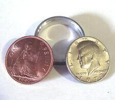Scotch and Soda Kenndy Half Dollar & English Penny Magic Coin Trick