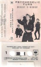 PSYCHEDELIC FURS  Midnight to midnight  DIFICULT SPANISH   cassette        SPAIN