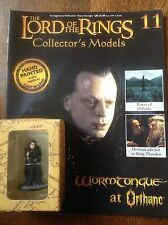 Eaglemoss. Lord Of The Rings Collectors Figure And Magazine. Grima Wormtongue.
