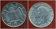 ITALIE  ITALY  1 lire 1942  (  magnetic  )  ( bis )