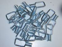 100 heavy duty Snare Swivels 9 gauge traps trapping snaring supplies NEW SALE