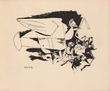 PABLO PICASSO - two doves * RARE EAST GERMAN GDR HELIOGRAPHY 1956