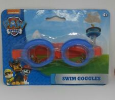Nickelodeon Paw Patrol Swim Goggles Adjustable Strap 4+ NEW