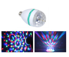 Bombilla LED RGB de colores 3W E27 Ossun 90% Ahorro de energía 8000h A