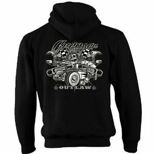 Childrens Hotrod 58 Hot Rat Rod Zip Hoodie Greaser Outlaw Vintage Classic Car 67