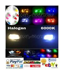 HOLDEN CRUZE T10 LED SMD SUPER BRIGHT 6000k WHITE 194 W5W NUMBER PLATE GLOBES