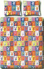 Playboy Bettwäsche mit RV 135x200 + 80x80 NEU + OVP Popart 135/200 Bunny Hase