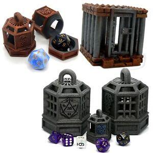 Dice Jail/Prison (D&D, Dungeons and Dragons, Pathfinder, Warhammer, 40k)