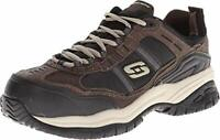 Skechers Mens Grinnel Low Top Lace Up Walking Shoes, Black, Size 7.0 KcdL