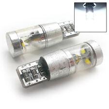Apto Para Ford 2x blanca Xenón 3 LED CREE Luz Lateral W5W T10 501 sjsl1027w