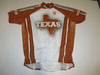 Texas 1/2 Zip Cycling Jersey Burnt Orange New without Tags Mens Small-XXL Canari