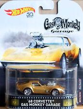 1968 Chevy Corvette Gas Monkey Garage Retro 1:64 Hot Wheels FLD15 DMC55