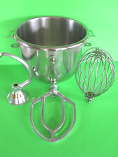 Everything For The Hobart A120 120 Mixer Bowl Hook Beater Amp Wire Whip 12 Quart