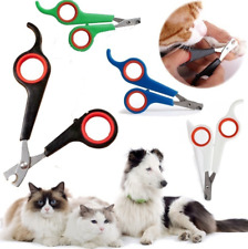 Pet (Dog, Cat, Rabbit, Bird, Guinea Pig) Claw / Nail Clippers Trimmers Scissors
