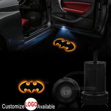 2x The Dark Knight Batman Logo Car Door LED Laser Projector Ghost Shadow Light
