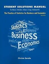 Moore, McCabe, Alwan, Craig, Duckworth's The Practice of Statistics for Business