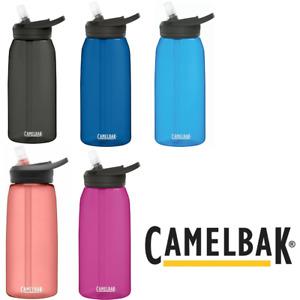 NEW DESIGN Camelbak Eddy + 1L Leak Proof Water Bottle - Sports Hydration