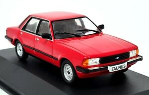 Altaya 1/43 Ford Taunus 1.6GL 1980 Red (Cortina MK5) Diecast Scale model Car