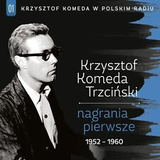 CD KRZYSZTOF KOMEDA Nagrania pierwsze 1952-60 Komeda w Polskim Radiu 01
