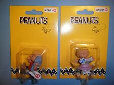 SCHLEICH PEANUTS LINUS & SALLY FIGURES *NEW* IN PACKAGING WITH TAGS