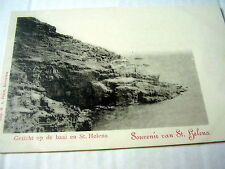 VERY OLD  PPC: ST. HELENA~GEZICHT OP DE BAAI~VIEW ON BAY~UNDIVIDED~DUTCH EDITION