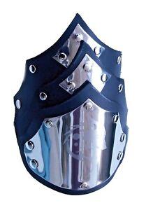 Wolf black Leather Cuff Bracelet Wristband-Stud-Steampunk-Gothic-Handmade UK