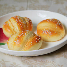 1 Pcs Hanamaki Sesame Bread Bread Artificial Simulation Fake Food Kitchen