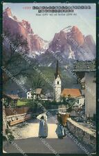 Bolzano Castelrotto Siusi allo Sciliar cartolina QT3170