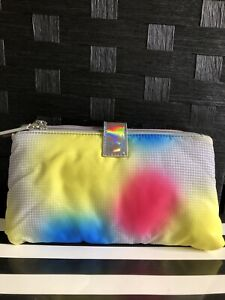 Lulu Guinness Women's Multi Color Double Make-up Pouch-Defective Box(W50)