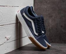 Vans OLD SKOOL CANVAS SKATE Shoes Size Men's 10 GUM BUMPER / DRESS BLUES