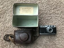Zorki-1 Soviet Rangefinder Camera film 35mm with Industar-22