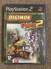 PlayStation 2: Digimon Rumble Arena 2 (Superb Factory Sealed Condition) UK PAL