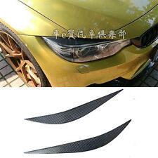 Carbon Fiber Headlight Cover Eyelid Eyebrow for BMW 4 Series F32 F36 F82 F83 M4