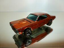 HOT WHEELS RED LINE CUSTOM COUGAR MERCURY - COPPER 1:60? - GOOD CONDITION