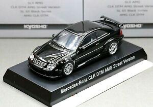 Kyosho 1/64 AMG Collection Mercedes Benz CLK DTM AMG (C209) Street Version Black