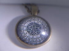 Astrological Protection Amulet & Pentagram, Heptagram, Zodiac & Planets