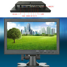 "10.1"" TFT LCD Monitor USB/HDMI/BNC/AV/VGA Input For Car/Security/Computer Screen"
