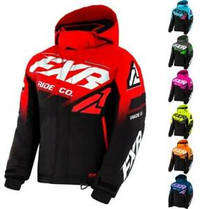 FXR Racing Boost Youth Snowmobile Jacket