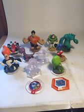 Disney Infinity Figures Lot of 10 Monsters Buzz Mickey Ralph Syndrome Crystal