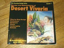 DESIGN AND MAINTENANCE OF DESERT VIVARIA , volume 1