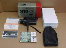 VINTAGE CANON 310 XL SUPER 8MM MOVIE CAMERA TESTED WORKING ONE OWNER W/PAPER WOR
