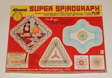 KENNER'S SUPER SPIROGRAPH DRAWING SET BOXED No. 2400