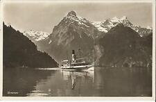 Schiff, Dampfer Schiller auf dem Urnersee, Flüelen, Brunnen, Lurern, Schweiz