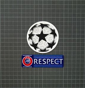 UEFA Champions League Starball & RESPECT Sleeve Patches/Badges 2012-2021