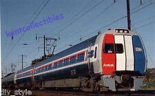 Amtrak Metroliner #822 Electric railroad train postcard